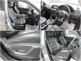 運転席には電動パワーシート搭載!無段階で運転ポジションの設定ができます♪