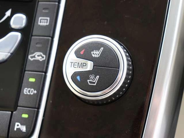 スコットランド産プレミアム・ソフトレザーシートを贅沢に使用、シートヒーター&シートベンチレーション機能も搭載します。