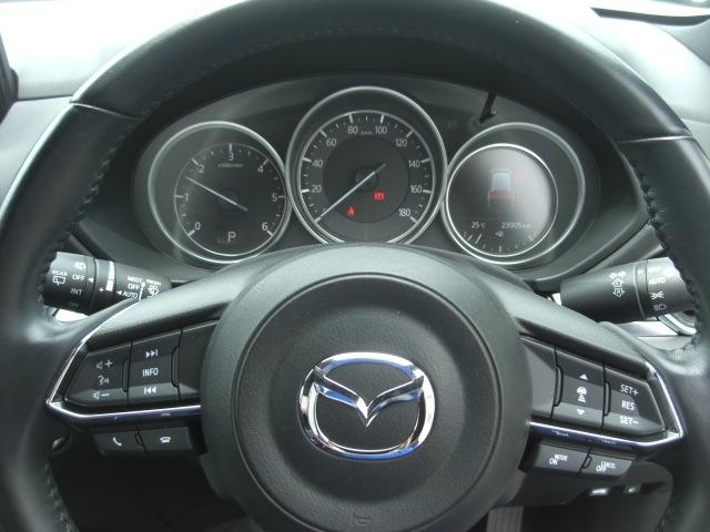 レーダークルーズ♪ミリ波レーダーで先行車との速度差・車間距離を認識。約30キロ~100キロの範囲で、先行車との車間を維持しながら追従走行し、長距離走行などでドライバーの負担を軽減します♪