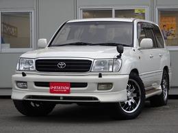 トヨタ ランドクルーザー100 4.2 VXリミテッド ディーゼルターボ 4WD ディーゼルターボ 純正エアロ サスコン付