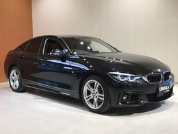 BMW 4シリーズグランクーペ 420i xドライブ Mスポーツ 4WD フルセグ 茶革 インテリセーフ ACC 純ナビ