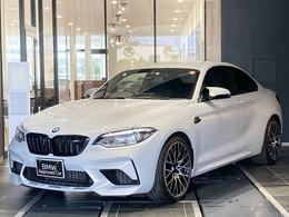 BMW M2コンペティション M DCTドライブロジック 黒革電動シート 社外フルセグ ドラレコ