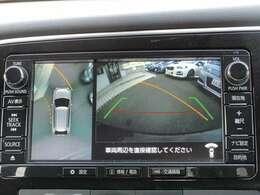 純正SDナビ(MMCS) 全方位カメラ接続有り。プレ空調設定可能です。 フルセグTV Bluetooth接続 CD/DVD再生