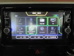 純正SDナビです!道案内はこちらにお任せ☆フルセグTV・ブルートゥース機能はもちろんCD・DVD再生もできちゃいます!ドライブが楽しくなりますね♪