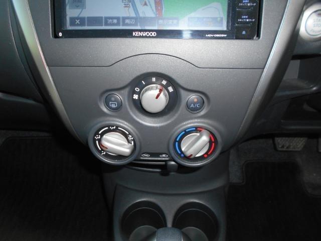 空調スイッチは使いやすい形状です。