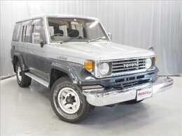 トヨタ ランドクルーザー70 4.2 ZX ディーゼル 4WD サンルーフ 純正カラー 本州仕入