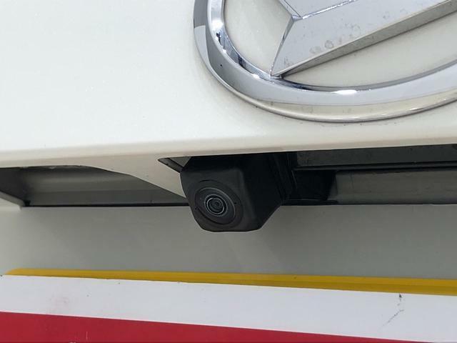 バックするとき後方の安全確認ができるバックカメラが付いてます