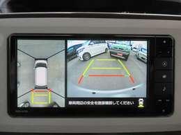 全方位カメラ!全方位の死角もバッチリ確保で駐車も楽々♪あると安心ですよね