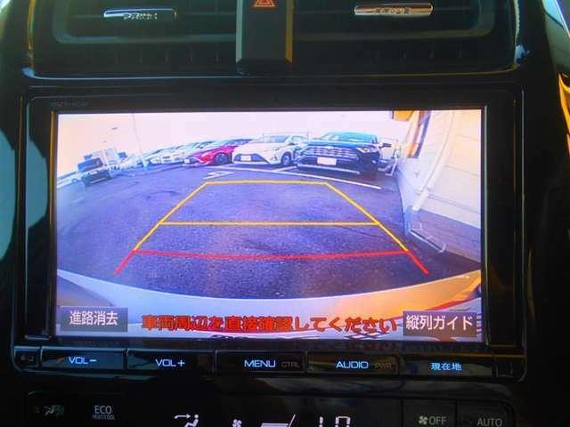 バックカメラで駐車も安心☆