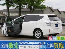 トヨタ プリウスα 1.8 S ウェルキャブ 助手席リフトアップシート車 Aタイプ ワンオ-ナ- スマ-トフォンリンクアプリ ETC