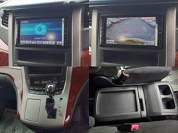 ナビ、バックモニター付きで運転をサポート。