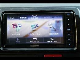新品ケンウッド7型ナビを装備しております。フルセグTV、DVD再生可、ブルートゥース接続も可能です。