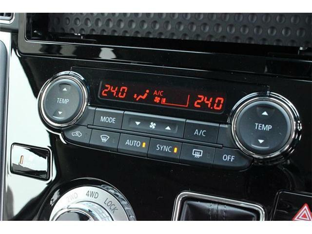 左右独立温度コントロール式フルオートエアコン&リヤマニュアルクーラー