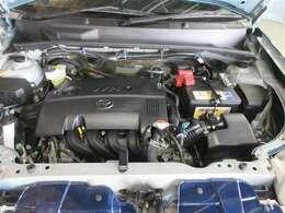クリーンかつランニングコストに優れたエンジンを搭載