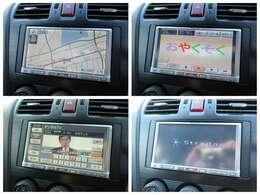 社外SDナビが装備されております♪画面もクリアで運転中も確認しやすいです♪フルセグTVとDVDの視聴もお楽しみ頂けます♪車内にいても退屈せずにお過ごし頂けます♪