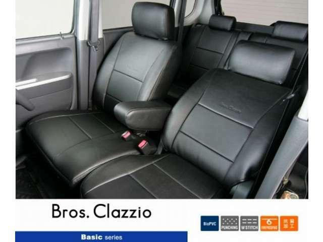 Bプラン画像:クラッツィオのシートカバーです。お勧めのTYPEです。その他のシートカバーもご相談ください。
