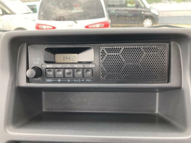 AM/FMラジオが付いております。