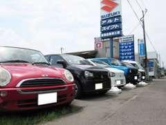 中古車を展示中!!納得のできる中古車選びと購入後の不安がないクルマ選びを当店はサポート致します