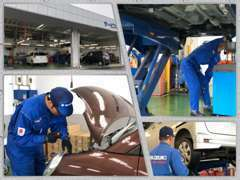 プロのサービススタッフが心を込めてお客様のお車を整備いたします。