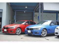 BMWスペシャルショップです。販売から整備お任せ下さい。全車整備点検してからご納車しております。最新の診断機も完備。