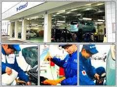 安心、確かなプロの技術!車検はもちろん、お車の悩みやトラブルお任せください!