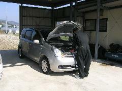 自社工場にて点検・整備をしておりますので納車時も安心下さい。