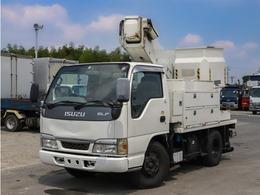 いすゞ エルフ 高所作業車 10m FRPバケット タダノ製 バケット荷重200kg