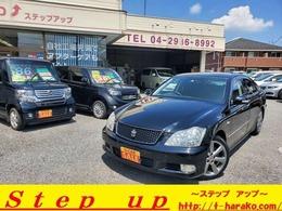トヨタ クラウンアスリート 2.5 純正HDDナビ 新品タイヤ付き 1年保証付き