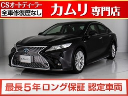 トヨタ カムリ 2.5 G レザーパッケージ 禁煙/新品スピンドル/黒革/SDナビ/地デジ