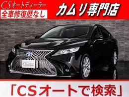 トヨタ カムリ 2.5 G レザーパッケージ 禁煙 黒革 SDナビ LEDライト Bカメラ ETC