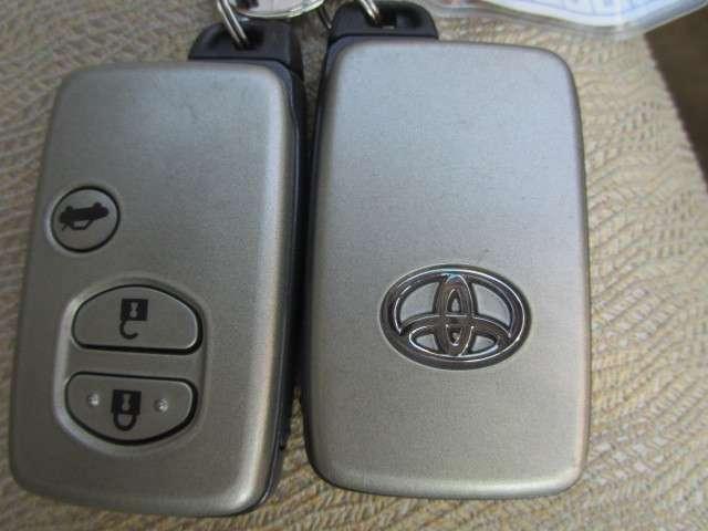 『スマートキ-』機械的な鍵を使用せずに車両のドアの施錠/解錠、エンジン始動が可能なシステムです!