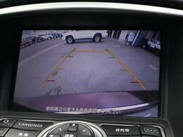 フルカラーバックビューモニター搭載しています。リアの映像が映し出されますので安心安全です。