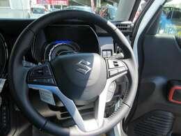 ハンドルリモコン対応しています!運転中にとっても便利ですよね♪パネルカラー(ブラック)は別オプションです。標準カラーは、ホワイトです。