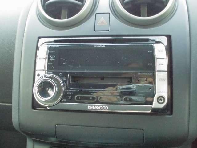社外ケンウッド製CD/MDレシーバー DPX-50MD 装備