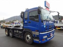 いすゞ ギガ 重量トラクタ 2デフ 個別緩和 87.25t 横浜車輌工業 ベッド付 第5輪荷重20t