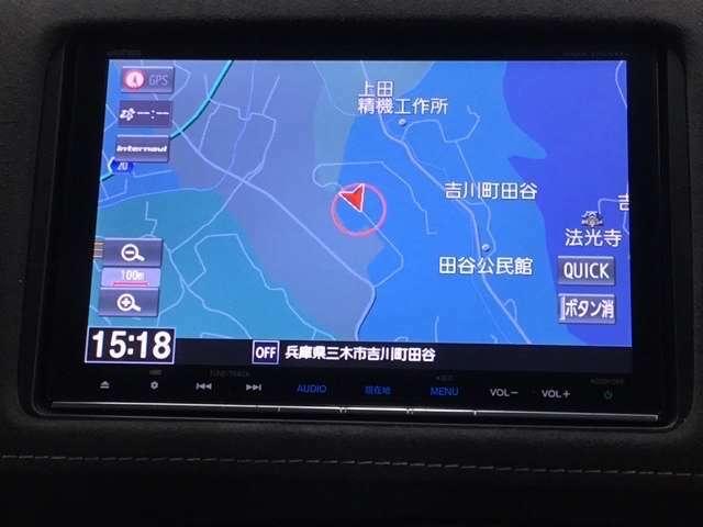 ☆ディーラーオプションのギャザーズ8インチナビ装備。Bluetooth等多彩なメニューも使用可能です。