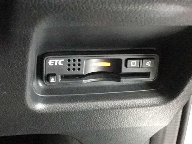 ETC装備で、高速道路料金所もスイスイ通過できます!