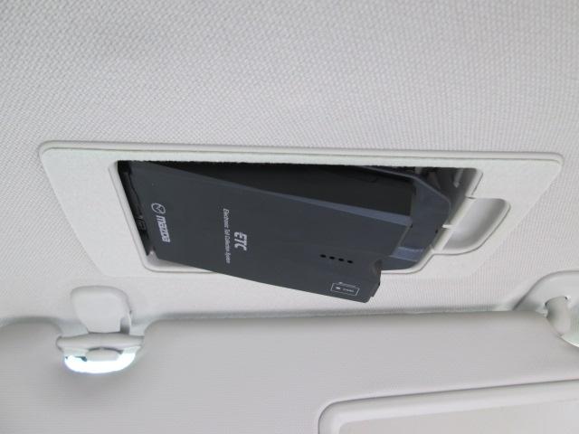 スマートインETCはバイザー裏にあるから外から見えなくて防犯的にも良くて手元でカードの出し入れが出来て便利です