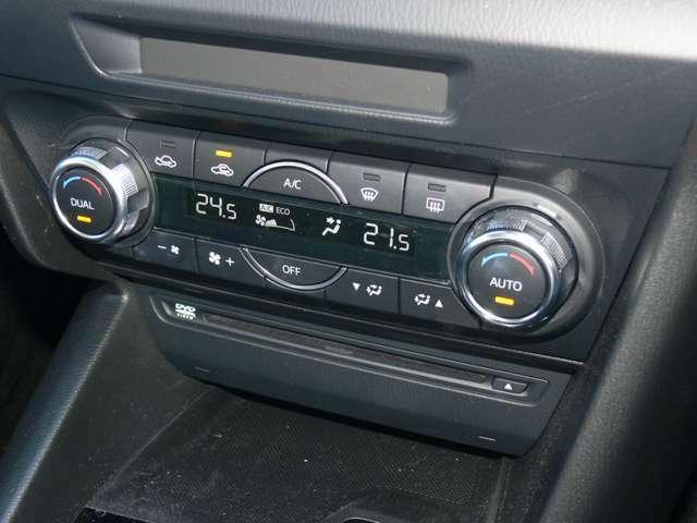 【オートエアコン】設定した温度に合わせてくれるので暑すぎず寒すぎず快適に過ごせます☆