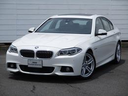 BMW 5シリーズ 528i Mスポーツ サンルーフ ACC ウッドパネル19AWLEDライト