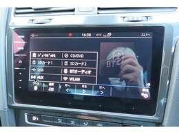 ディスカバープロ(9.2インチモニター)が装備されております。CD・DVD再生やTV視聴・Bluetooth接続などが内蔵されております。