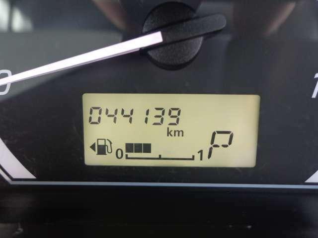 オドメーター 走行4万km台