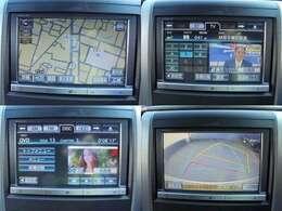 純正オプション8インチナビ・フルセグTV・DVDビデオ再生・バックモニター