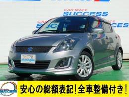 スズキ スイフト 1.2 RS-DJE 禁煙車MナビFセグ1オーナーETC/267銀