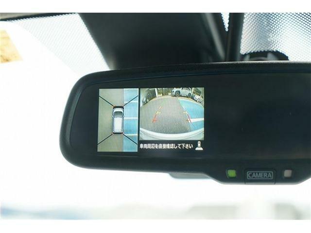 アラウンドビューモニター装備☆運転席から目視しにくい車両周囲の状況をリアルタイムで確認できます☆