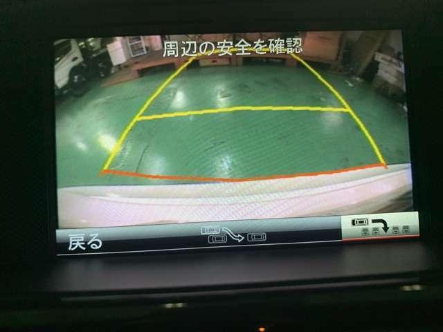 バックカメラ 地デジ装備