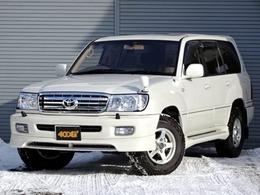 トヨタ ランドクルーザー100 4.2 VXリミテッド ディーゼルターボ 4WD 寒冷地仕様 サンルーフ ナビ地デジ Bカメラ