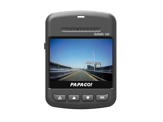 Aプラン画像:コンパクトサイズながら2.0インチの液晶モニターを内蔵しています。各種設定やメモリーカードに記録された映像と音声をドライブレコーダー本体で確認できます。