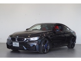 BMW M4クーペ M DCT ドライブロジック 赤本革 サンルーフ Mスポーツブレーキ ETC