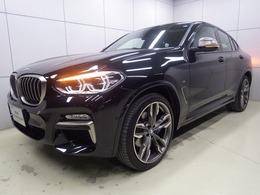 BMW X4 M40i 4WD パノラマサンルーフ 21incAW 認定中古車